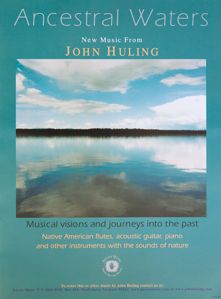 Ancestral Waters | Musical Visions Into the Past Poster John Huling Music