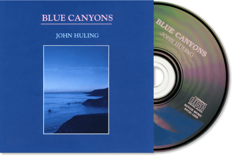 Blue Canyons CD John Huling Package