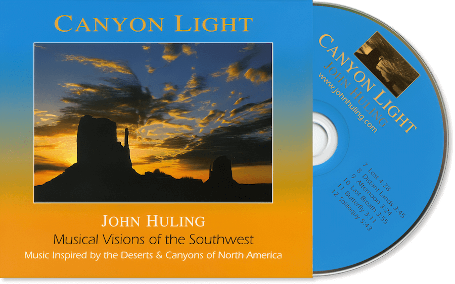 Canyon Light CD John Huling Package