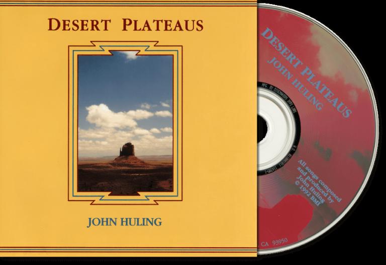 Desert Plateaus John Huling Original CD Cover Art Circa 1991