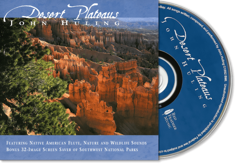Desert Plateaus CD John Huling Package