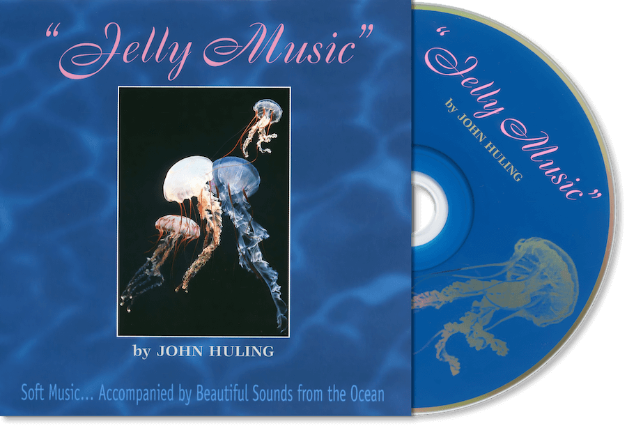 Jelly Music CD John Huling Package