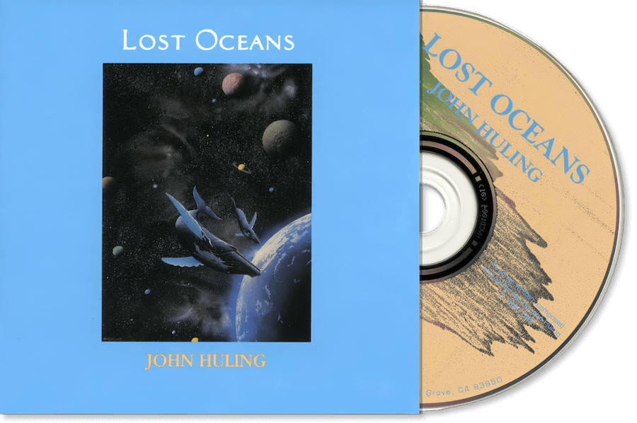 Lost-Oceans CD John Huling Package