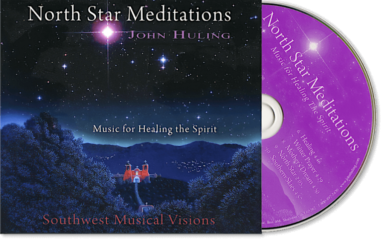 North Star Meditations CD John Huling Package
