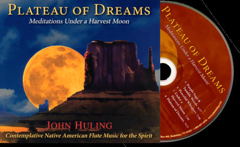 Plateau of Dreams CD John Huling Package