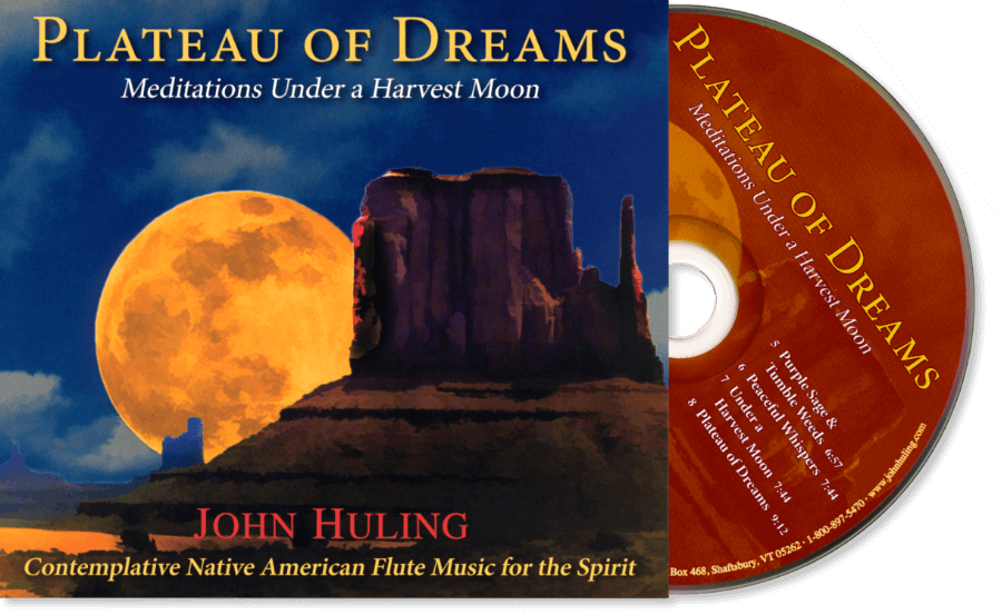 Plateau of Dreams CD John Huling Package