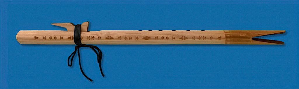 Raw-Wood-Native-American-Flute-Gm