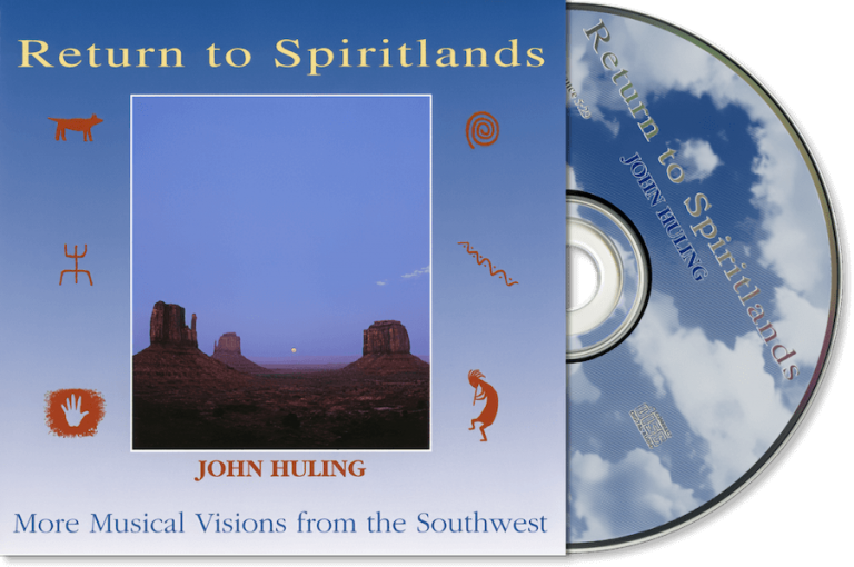 Return to Spiritlands John Huling - Original CD Cover Art