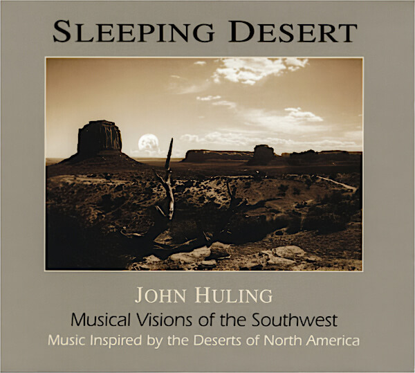Sleeping Desert CD John Huling Cover