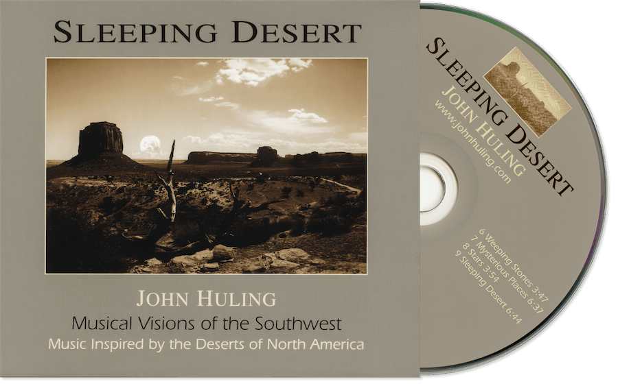 Sleeping Desert CD John Huling Package