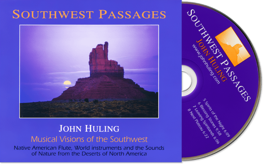 Southwest Passages CD John Huling Package