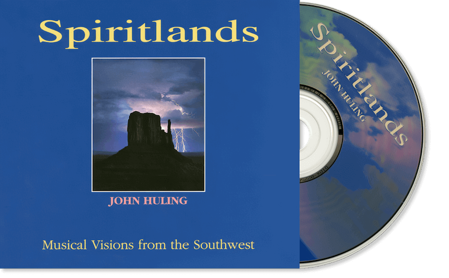 Spiritlands CD John Huling Package