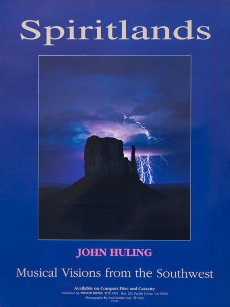 Spiritlands Musical Visions from the Southwest Poster John Huling Music
