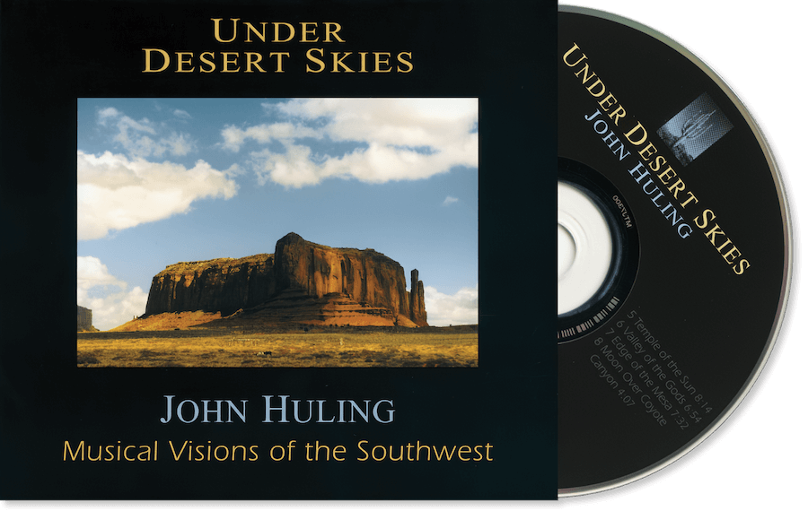 Under Desert Skies CD John Huling Package