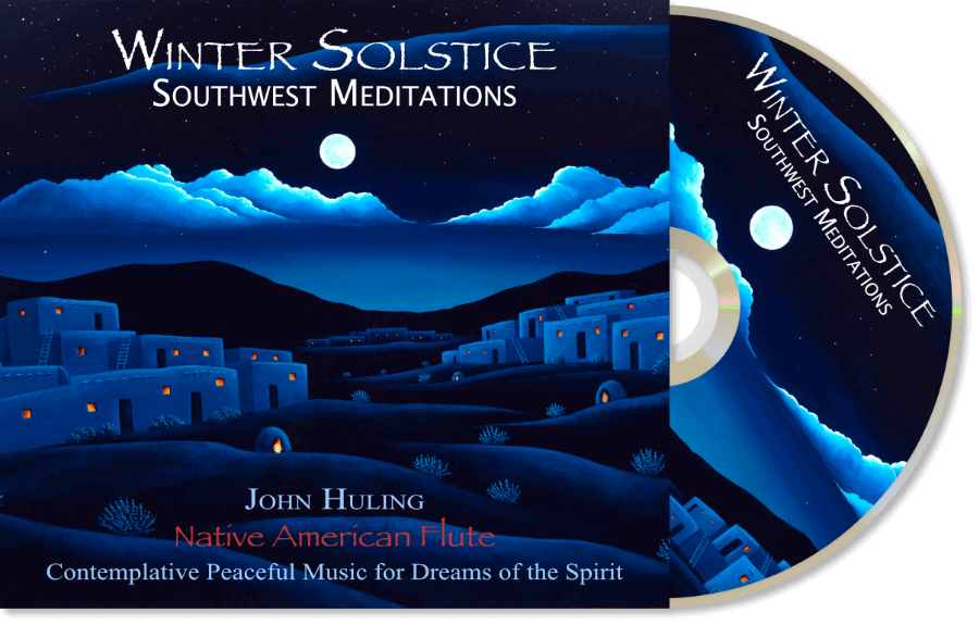 Winter Solstice CD John Huling Package