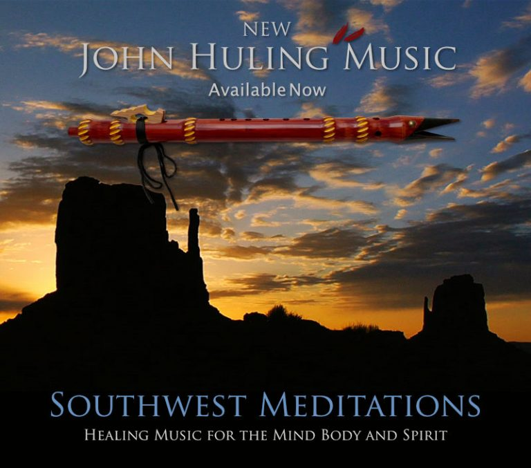Healing, Prayerful Music from John Huling for the Mind Body and Spirit - Southwest Meditations | Set of 3 New CD's ideal for healing, prayer and meditation | Available Now - Buy at $12 each or $30 for the entire set of three.
