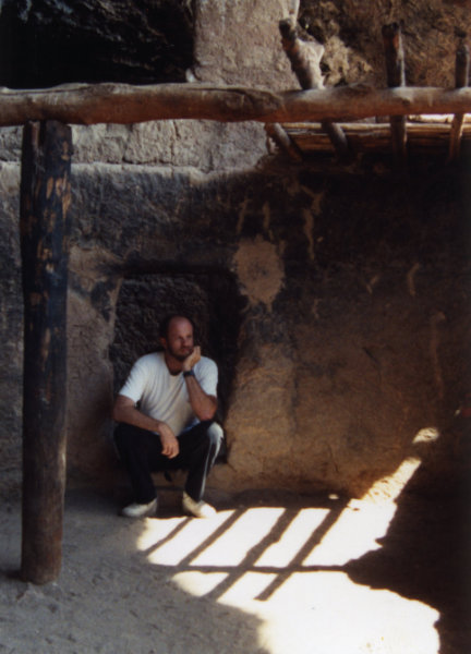 John Huling at Tonto Anasazi Ruins Arizona 1991
